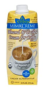 MimicCreme Creamer Substitute, Unsweetened, 16 Ounce