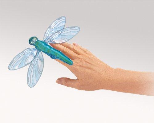 Folkmanis Mini Dragonfly Finger Puppet