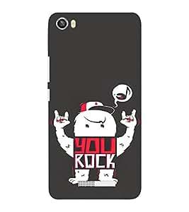 EPICCASE You Rock cover Mobile Back Case Cover For Lava Iris X8 (Designer Case)