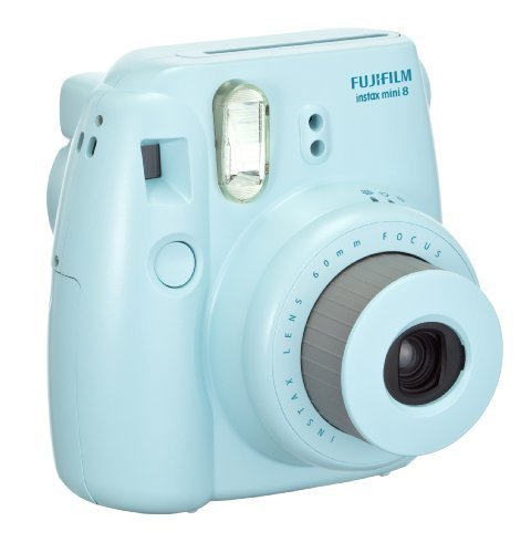 fujifilm instax mini 8 instant film camera blue my canon digital camera. Black Bedroom Furniture Sets. Home Design Ideas
