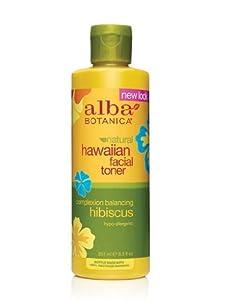 """""""Alba OrganicsTM Hawaiian Facial Toner Hibiscus -- 8.5 fl oz"""""""