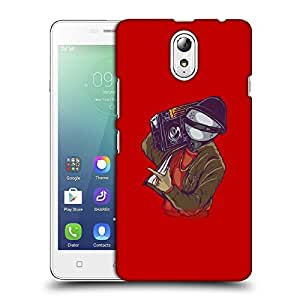 Snoogg Music Man Designer Protective Back Case Cover For LENOVO VIBE P1