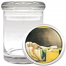Death Of Marat Jacques Louis David Medical Glass Jar D-393