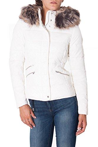 ONLY - Giacchetto con cappuccio donna new indipendece nylon jacket m panna