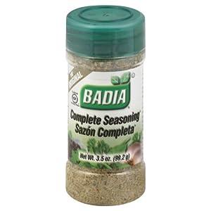 Badia Complete Seasoning, 3.5-Ounce