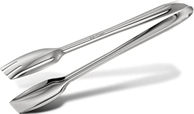 All-Clad T234 Stainless Steel Cook Serving Tongs, Silver