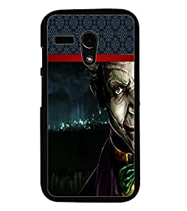 PrintDhaba Scary Image D-3995 Back Case Cover for MOTOROLA MOTO G (Multi-Coloured)