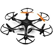 The Flyer's Bay Ultra Stable 6 Axis Hexacopter Helicopter (Black)