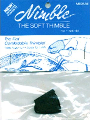 Find Discount Canvas Corp Leather Nimble Thimble with Metal Tip, Medium