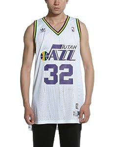 NBA Utah Jazz Navy Swingman Jersey Karl Malone #32 by adidas