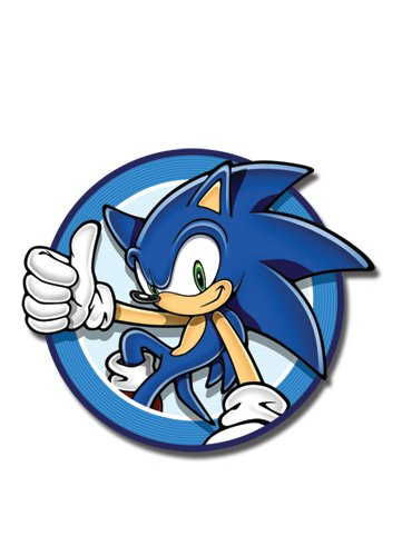 Sonic The Hedgehog Sonic Circle Aufn&#228;her