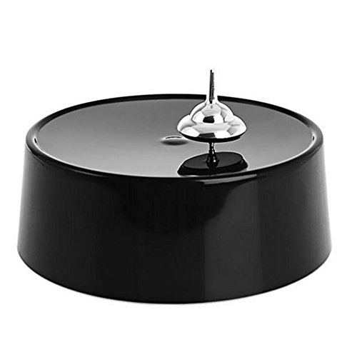 Glantop-Magnetic-Toy-Spinning-Top-for-Home-and-Office-Decoration-Ornament-Black