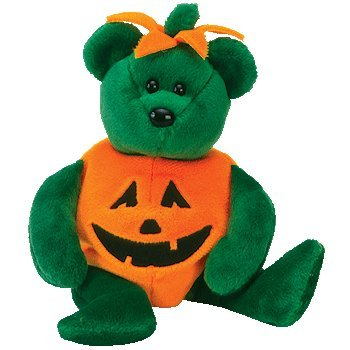 Ty Beanie Babies Tricky - Halloween Bear - 1