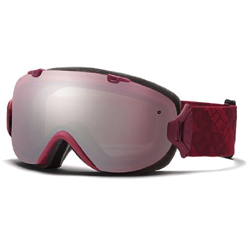 Smith Optics I/OS Goggles, Merlot Motif, Ignitor