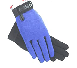 SSG All Weather Riding Gloves Mens Large Navy/Black