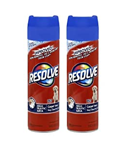 Resolve Carpet Pet High Traffic Foam, 22 Ounce (Pack of 2)