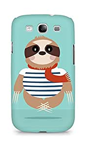 Amez designer printed 3d premium high quality back case cover for Samsung Galaxy S3 Neo (Sloth)