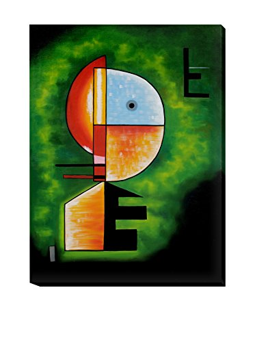 Wassily Kandinsky Upwards Gallery-Wrapped Reproduction