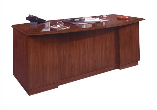 "DMI Office Furniture 7225-570 Eclipse 72"" W Left Single Pedestal Desk Finish: Classic Mahogany"