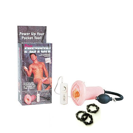 California Exotics / Swedish Erotica Power Piston Multi-Speed Pump Vagina Penis Pump Adult Sex Toy Kit