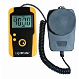 WCI Quality Digital Light Meter With Photo Detector - Provides Instant Accurate Reading In Fc Or Lux - For Photography, Construction, Inspections, Etc.