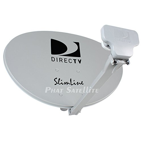 Great Deal! DIRECTV AU9-SL3-SWM Three LNB Ka/Ku Slim Line Dish Antenna SL-3 LNB Combo