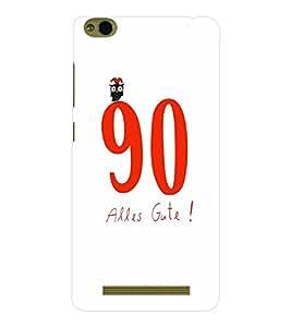 EPICCASE 90 Alles Gute Mobile Back Case Cover For Xiaomi 3S Prime (Designer Case)