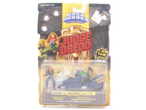 Picture of Mattel Judge Dredd Mini Figures #5 (B000X02ZNC) (Mattel Action Figures)