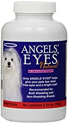 Angels\' Eyes Natural Tear Stain Elimination and Remover, Sweet Potato Flavor, 225 gram