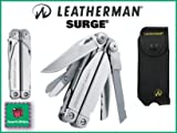 Leatherman 830160 Surge Pocket Multitool with Nylon/Leather Sheath