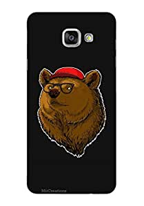MiiCreations 3D Printed Back Cover for Samsung Galaxy A7 (2016),Bear