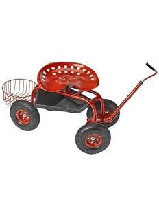 Amazon.com : Deluxe Tractor Scoot with Bucket Basket
