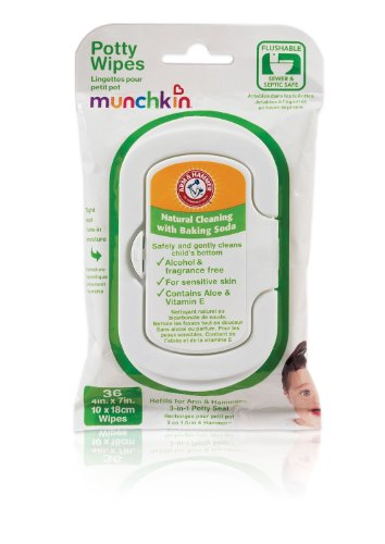 Arm & Hammer Potty Wipes, 36-Count (Discontinued by Manufacturer)