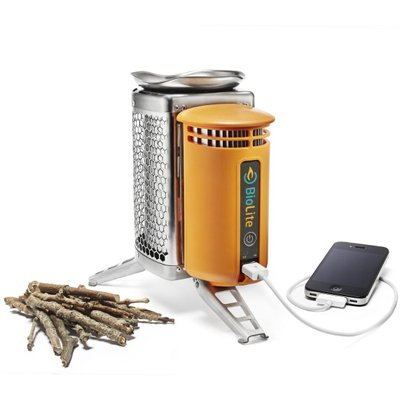BioLite(バイオライト) キャンプストーブ (POTアダプター) クッカー ストーブ 火力発電 充電