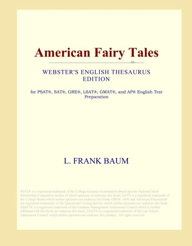 American Fairy Tales (Webster's English Thesaurus Edition)