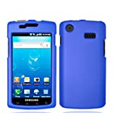Samsung Captivate I897 (AT&T) Rubberized Snap On Protector Hard Case, Blue