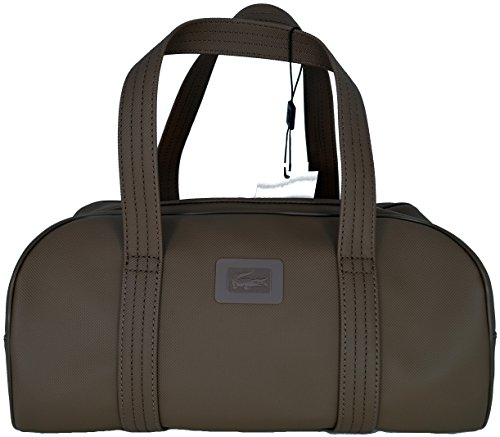 Borsa Bauletto Shopping Donna Lacoste Bag Woman Medium Bowling Classics NF1399L245 Coffee Liqueur Marrone