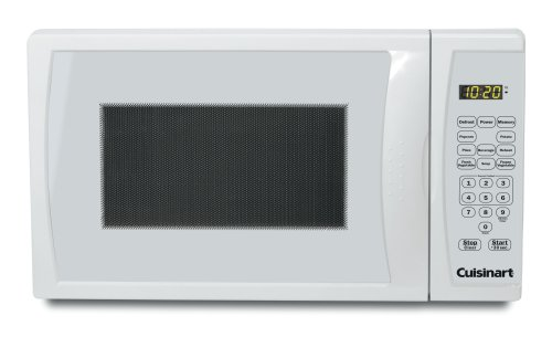 Find Discount Cuisinart CMW-55 2/3-Cubic-Foot 700-Watt Compact Microwave Oven, White