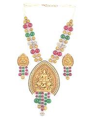 Beautiful Temple Jewellery Pendant Set For Women