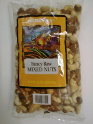 Trader Joe's Fancy Raw Mixed Nuts 16 oz. (Mixed Raw Nuts compare prices)