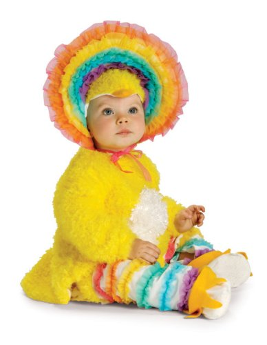 Rubie's Costume Co Baby-girls Infant Noah Ark Collection Rainbow Chickie Costume