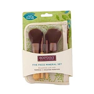 EcoTools MINERAL 5pc Make Up Brush Travel Set 1213