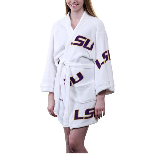NCAA LSU Tigers Ladies Kimono Robe - White (X-Large) at Amazon.com