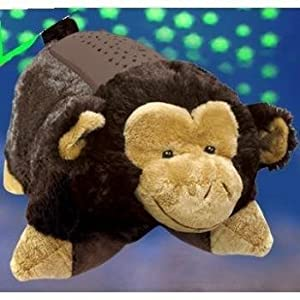 """Pillow Pets Dream Lites - Silly Monkey 11"""" by Pillow Pets"""