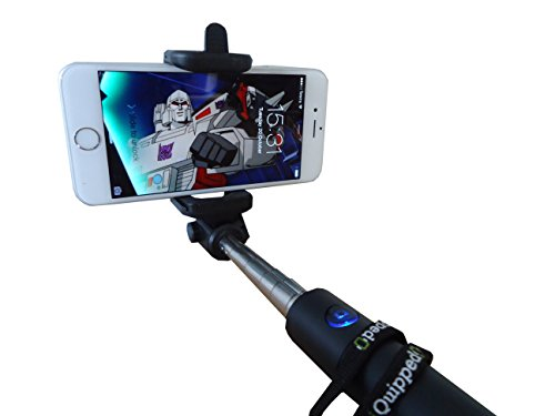 selfie stick iquipped new release bluetooth wireless extendable foldable monopod tripod for. Black Bedroom Furniture Sets. Home Design Ideas