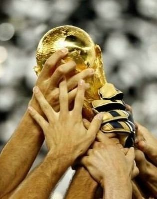 All About Autographs AAA-10235 2006 Italy 8x10 Photograph World Cup Trophy