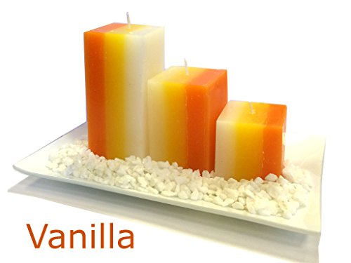 fineway-stunning-gift-set-with-3-scented-aromatic-mood-wax-candles-glass-plate-stones-candle-vanilla