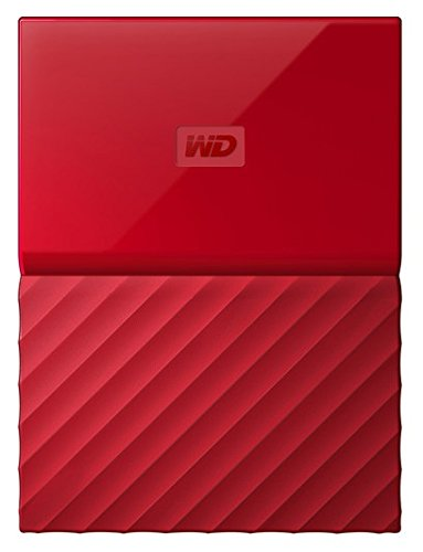 WD 1TB Red My Passport  Portable External Hard Drive - USB 3.0 - WDBYNN0010BRD-WESN (Wd 1tb Portable Hard Drive compare prices)