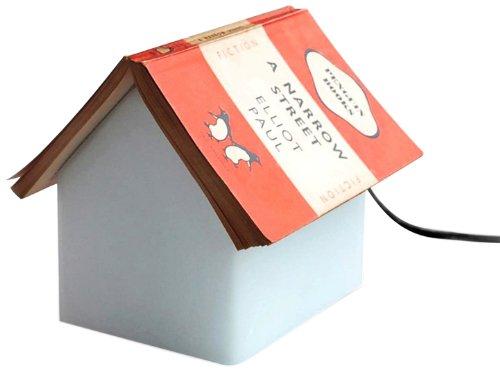 SUCK UK Nachttischlampe als Ablage für Ihr Buch