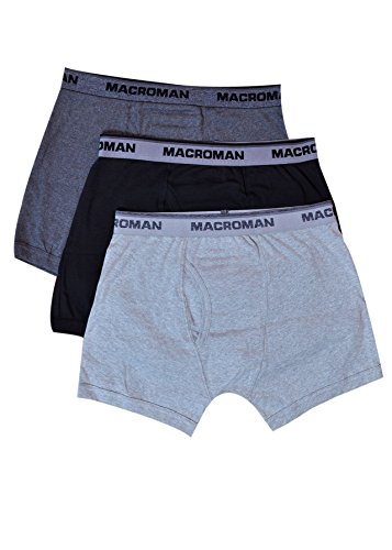 Macroman Men's Cotton Open End Strech Trunk (Pack Of 3) (M572-80-3_Multi-Coloured_Small)